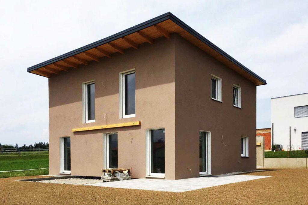 Kiegerl Bauunternehmung zweigeschoßiges Haus
