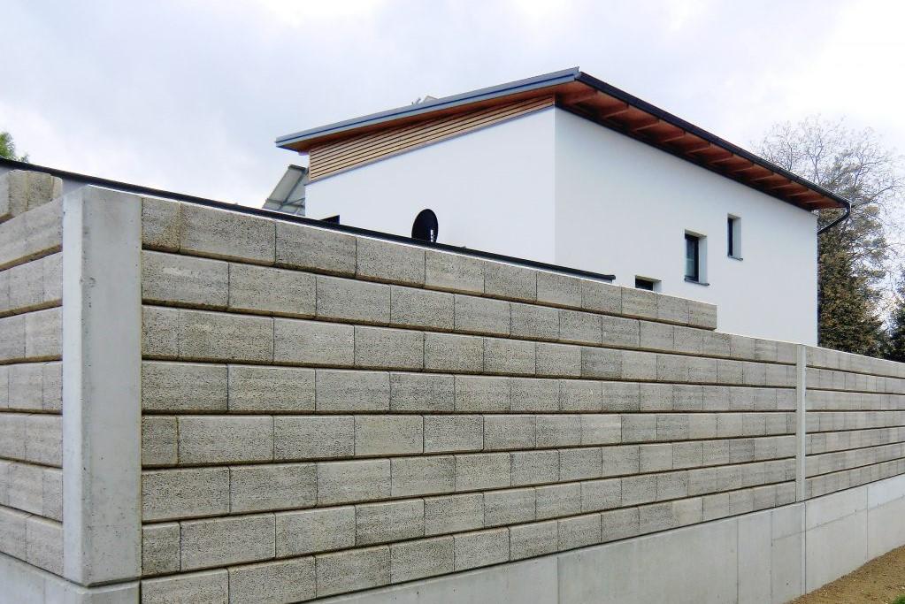 Baufirma Kiegerl - Durisol Lärmschutzwand