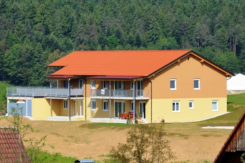 Baufirma Kiegerl-Wohnanlage Außenanlage
