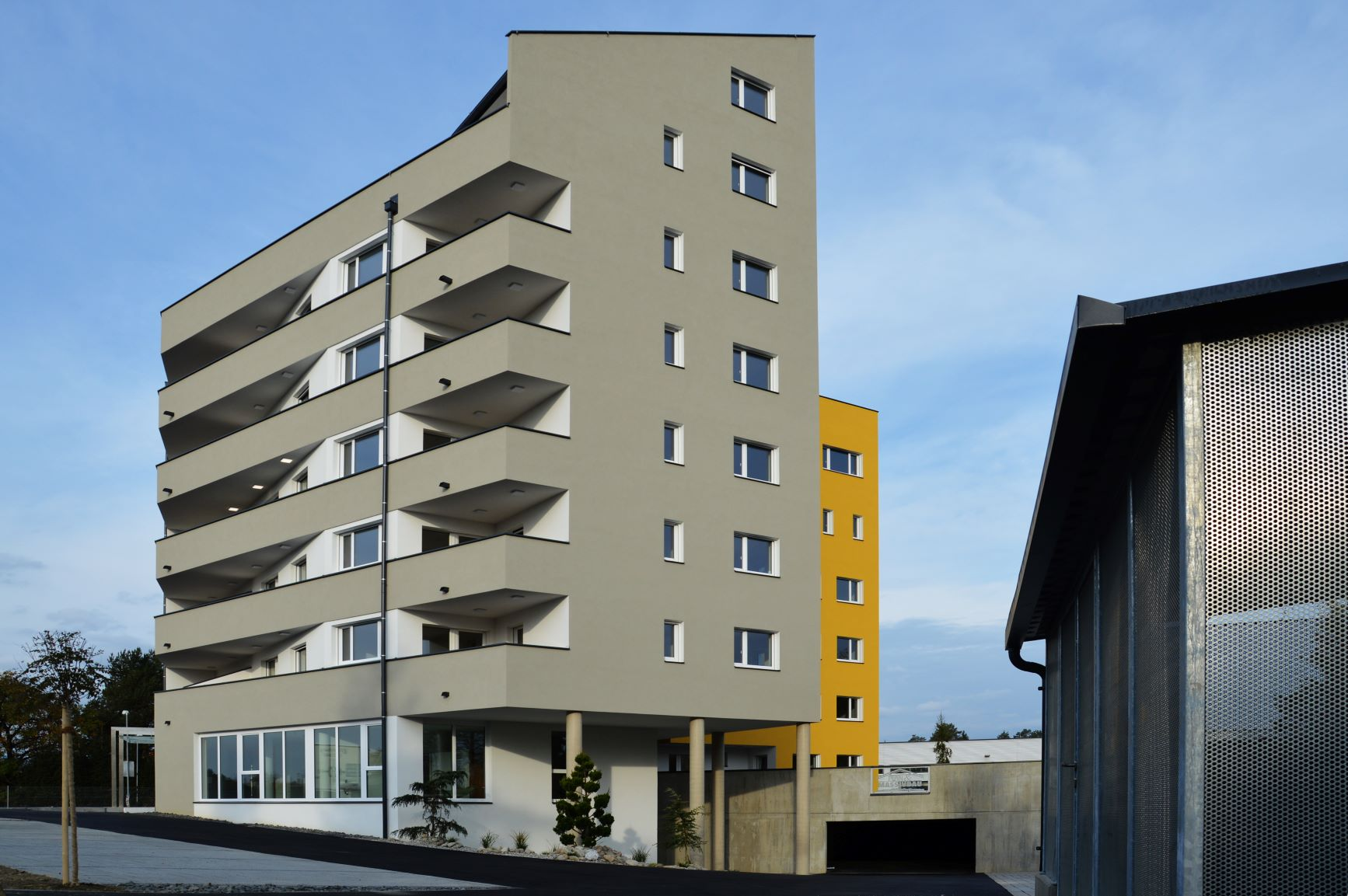 Baufirma Kiegerl Wohnanlage THT