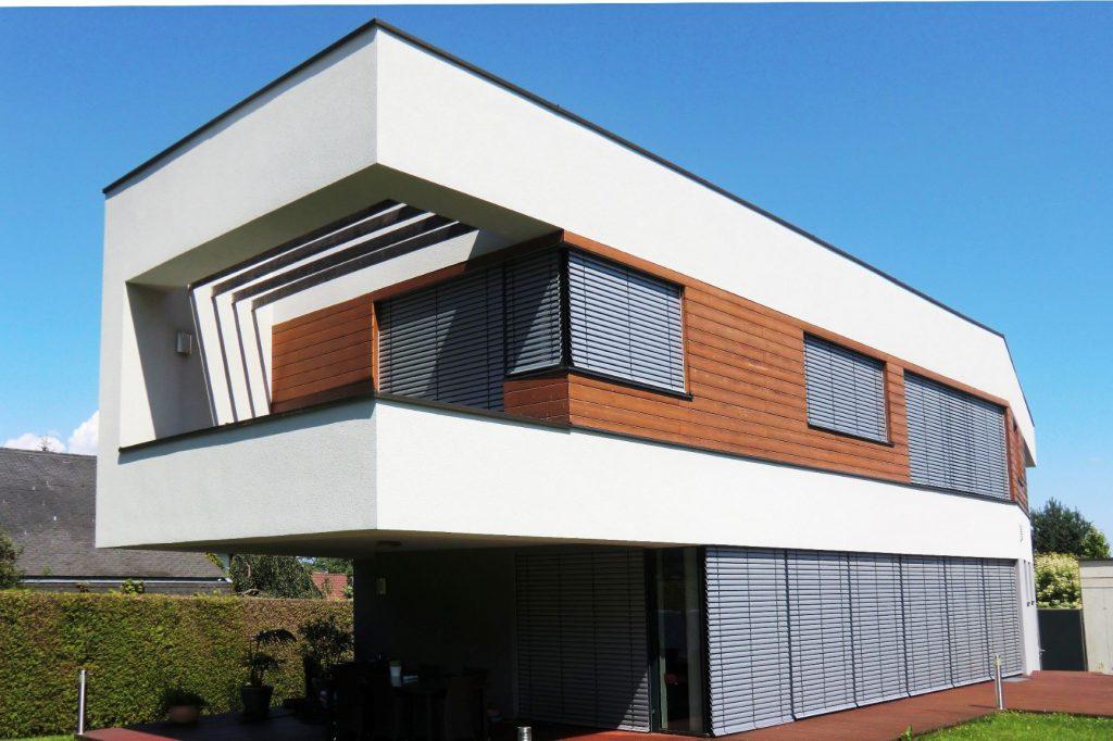 Haus mit Flachdach-Baufirma Kiegerl