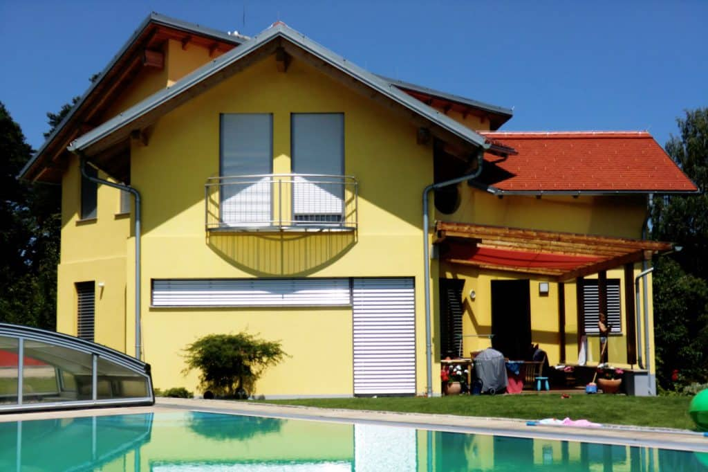 Haus Pool Baufirma Kiegerl