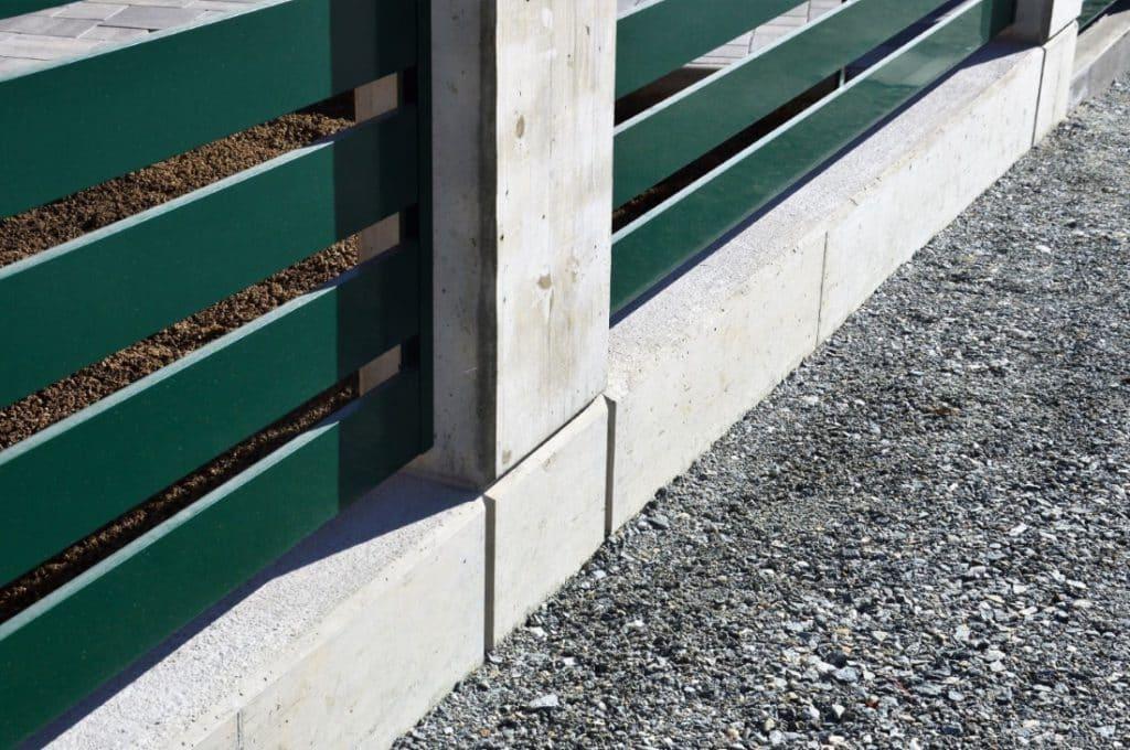 Bauunternehmung Kiegerl - Sockelwand