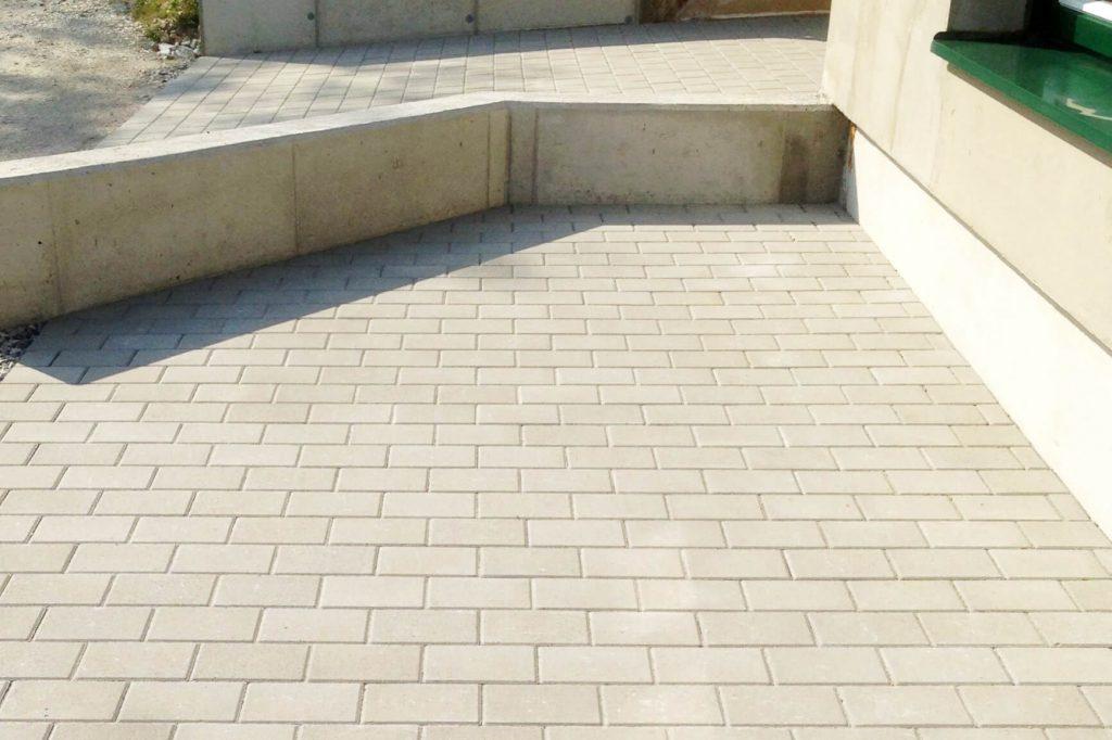Rampe barrierefrei - Bauunternehmung Kiegerl