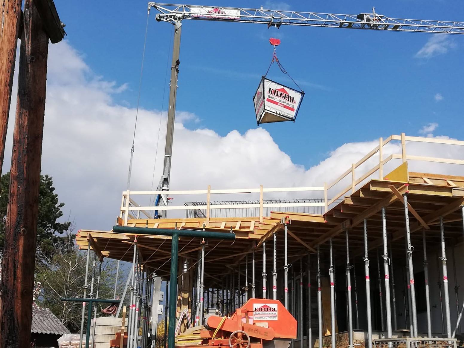 Gebäudeaufstockung - Bauunternehmung Kiegerl GmbH