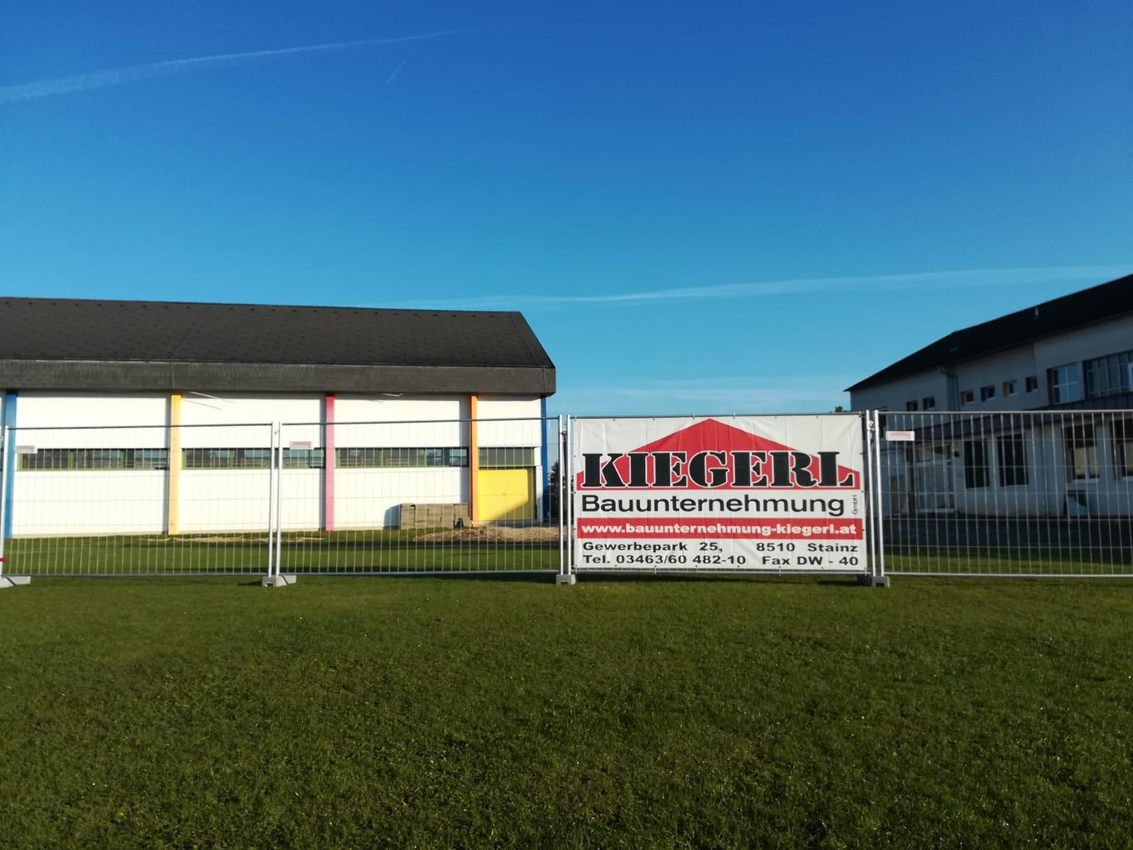 Baufirma Kiegerl - Umbau Baustelle