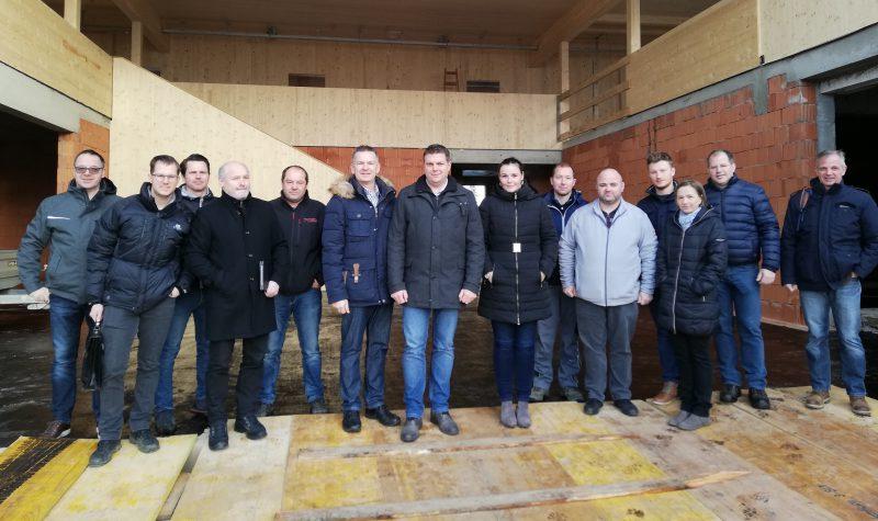 Besprechung Umbau Zubau - Baufirma Kiegerl
