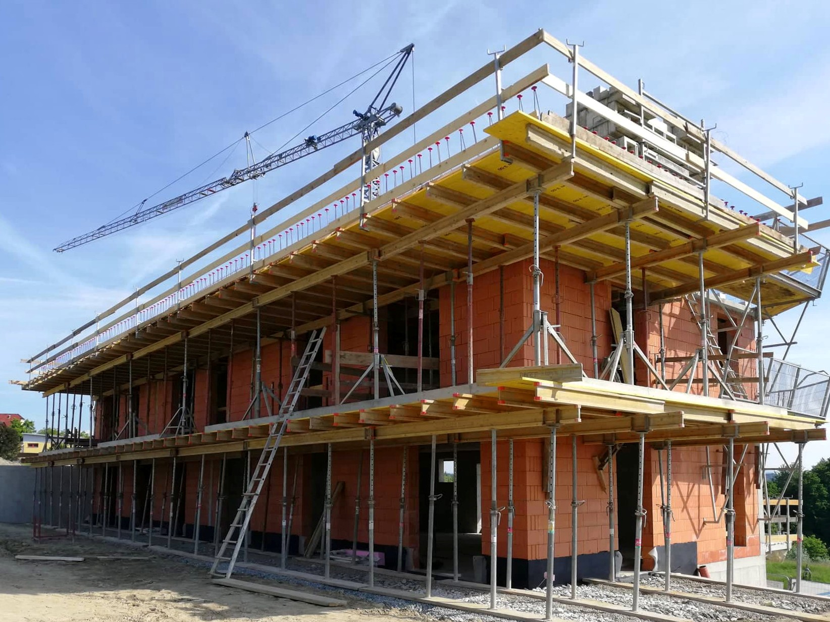 Wohnbau in Ziegelmassivbauweise - Baufirma Kiegerl