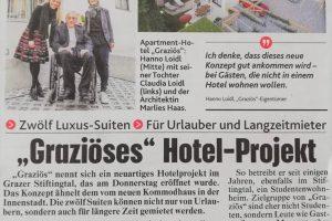 Baufirma Kiegerl - Kronen Zeitung Graziös